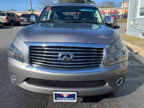 2011 Infiniti QX56 for sale at Fuentes Brothers Auto Sales in Jessup MD