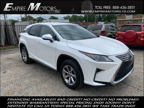 2018 Lexus RX 350 for sale at Empire Motors LTD in Cleveland OH