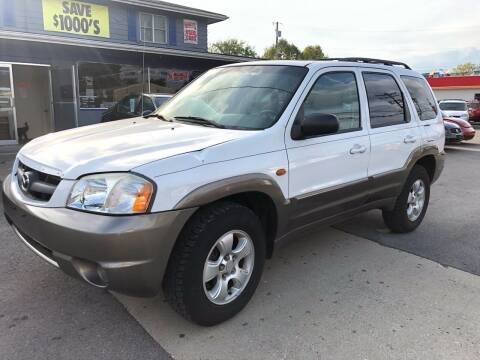 2004 Mazda Tribute for sale at Wise Investments Auto Sales in Sellersburg IN