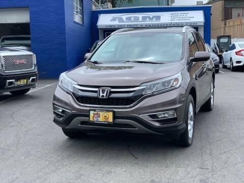 2015 Honda CR-V for sale at AGM AUTO SALES in Malden MA