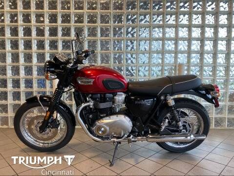 2020 Triumph Bonneville for sale at TRIUMPH CINCINNATI in Cincinnati OH