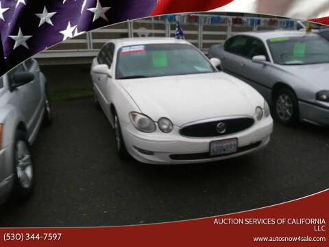 2006 Buick LaCrosse for sale at AUCTION SERVICES OF CALIFORNIA in El Dorado CA
