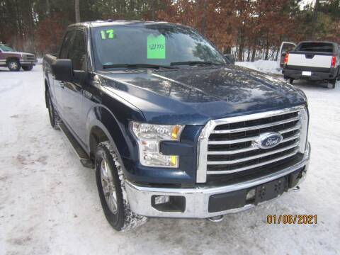 2017 Ford F-150 for sale at SUNNYBROOK USED CARS in Menahga MN