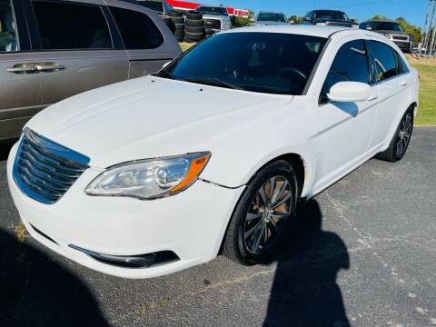 2014 Chrysler 200 for sale at BRYANT AUTO SALES in Bryant AR