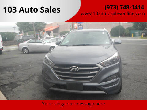 2016 Hyundai Tucson for sale at 103 Auto Sales in Bloomfield NJ