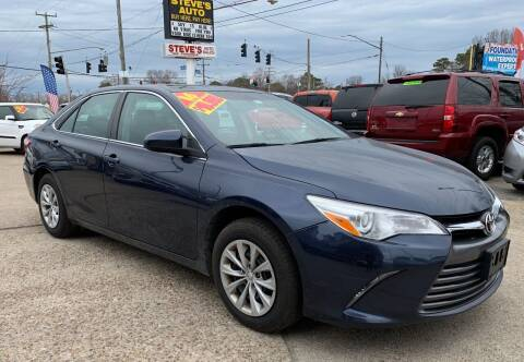 2016 Toyota Camry for sale at Steve's Auto Sales in Norfolk VA