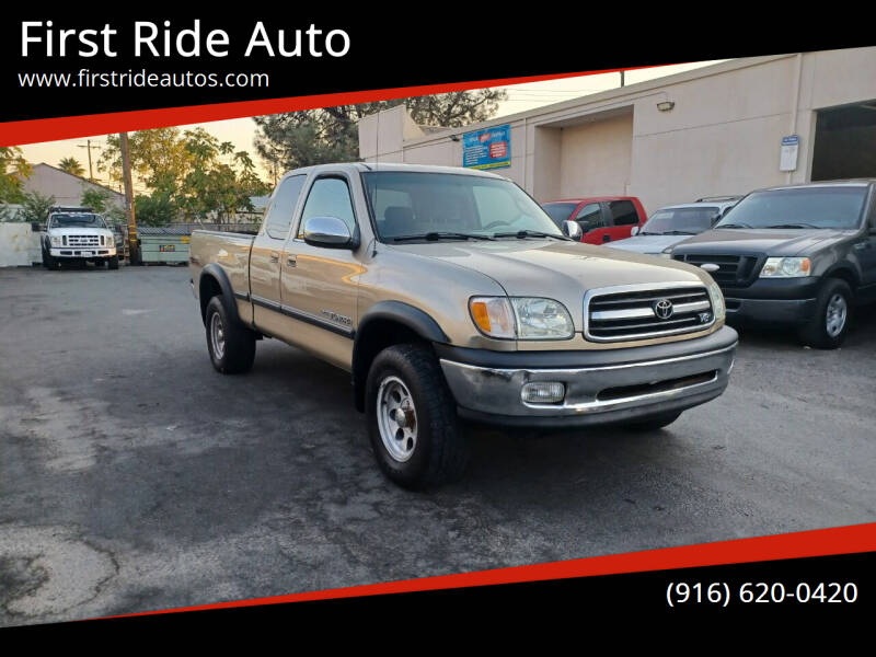 2002 Toyota Tundra for sale at First Ride Auto in Sacramento CA