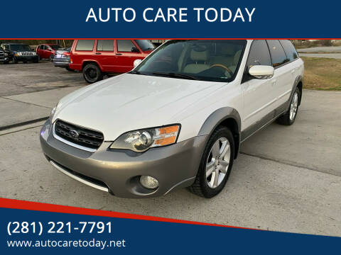 2005 Subaru Outback for sale at AUTO CARE TODAY in Spring TX