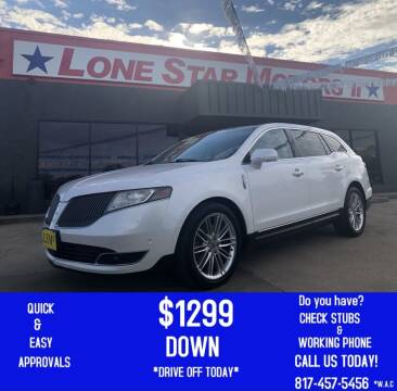 2013 Lincoln MKT for sale at LONE STAR MOTORS II in Fort Worth TX