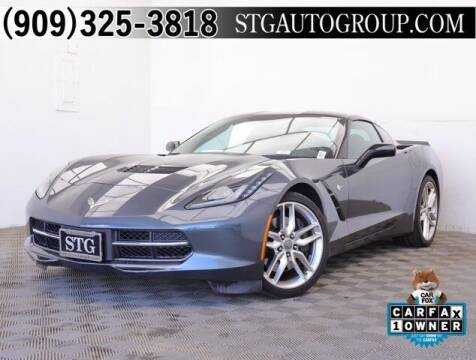 2014 Chevrolet Corvette for sale at STG Auto Group in Montclair CA
