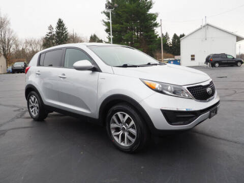 2015 Kia Sportage for sale at Patriot Motors in Cortland OH