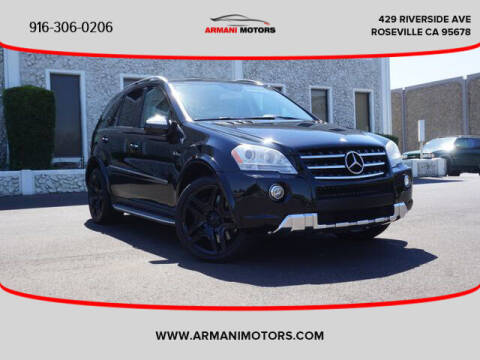 2009 Mercedes-Benz M-Class for sale at Armani Motors in Roseville CA
