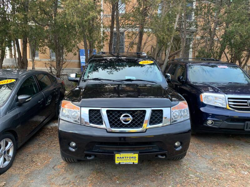 2011 Nissan Armada for sale at Hartford Auto Center in Hartford CT