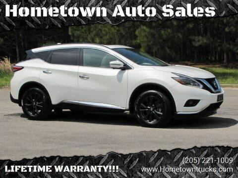 2018 Nissan Murano for sale at Hometown Auto Sales - SUVS in Jasper AL