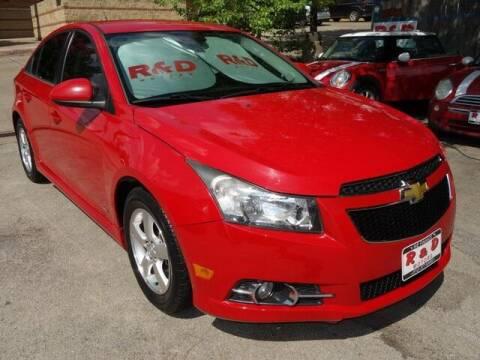 2013 Chevrolet Cruze for sale at R & D Motors in Austin TX