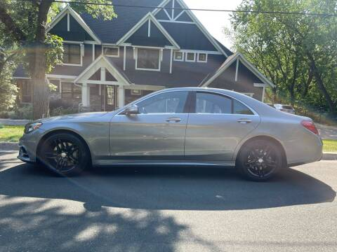 2015 Mercedes-Benz S5504matic for sale at You Win Auto in Burnsville MN