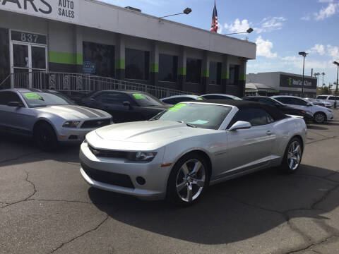 2014 Chevrolet Camaro for sale at Ideal Cars East Mesa in Mesa AZ