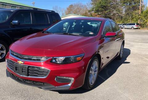 2018 Chevrolet Malibu for sale at Morristown Auto Sales in Morristown TN