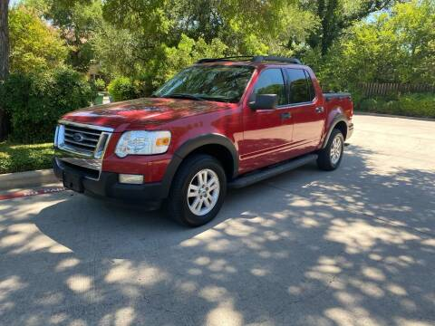 2010 Ford Explorer Sport Trac for sale at Motorcars Group Management - Bud Johnson Motor Co in San Antonio TX