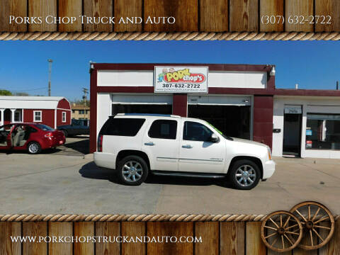 2009 GMC Yukon for sale at Porks Chop Truck and Auto in Cheyenne WY