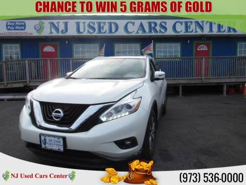 2017 Nissan Murano for sale at New Jersey Used Cars Center in Irvington NJ