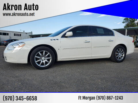 2006 Buick Lucerne for sale at Akron Auto in Akron CO