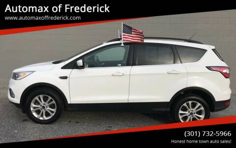 2017 Ford Escape for sale at Automax of Frederick in Frederick MD