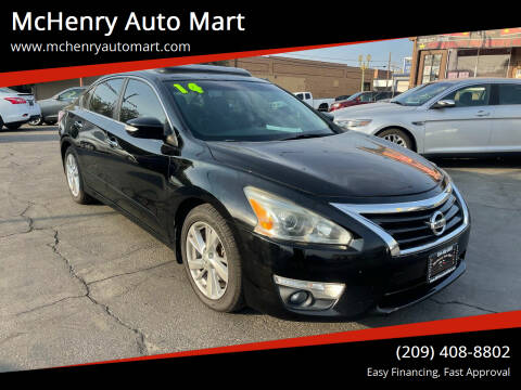 2014 Nissan Altima for sale at McHenry Auto Mart in Turlock CA