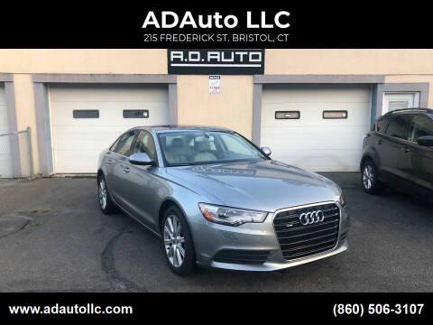 2014 Audi A6 for sale at ADAuto LLC in Bristol CT