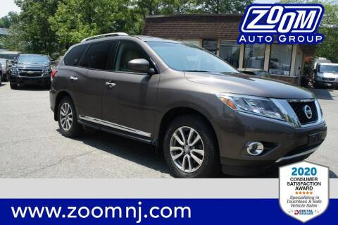 2015 Nissan Pathfinder for sale at Zoom Auto Group in Parsippany NJ