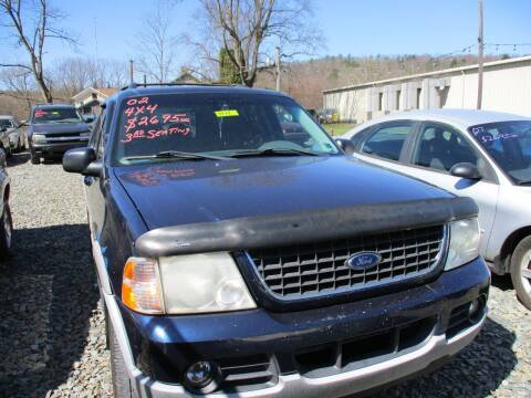2002 Ford Explorer for sale at FERNWOOD AUTO SALES in Nicholson PA