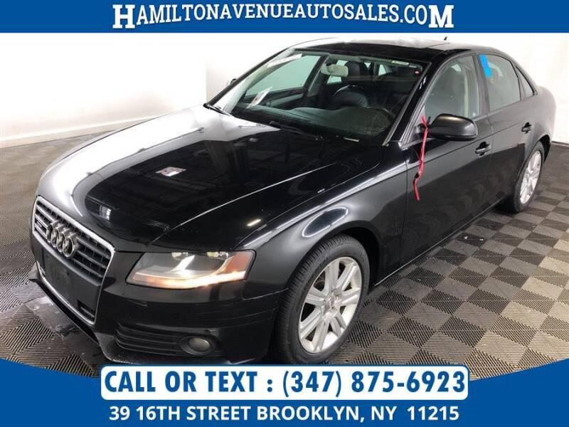 2011 Audi A4 for sale at Hamilton Avenue Auto Sales in Brooklyn NY