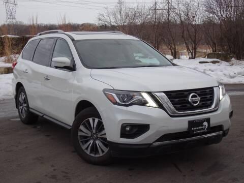2017 Nissan Pathfinder for sale at RAVMOTORS in Burnsville MN