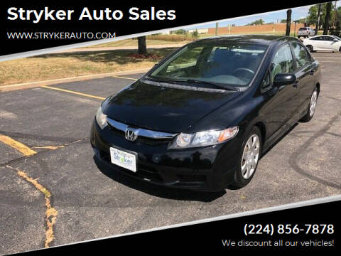2010 Honda Civic for sale at Stryker Auto Sales in South Elgin IL