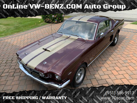 1966 Ford Mustang for sale at Online AutoGroup FREE SHIPPING in Riverside CA