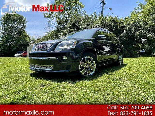 2011 GMC Acadia for sale at Motor Max Llc in Louisville KY