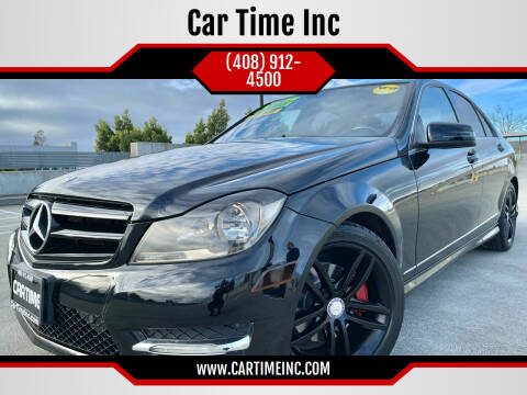 2013 Mercedes-Benz C-Class for sale at Car Time Inc in San Jose CA