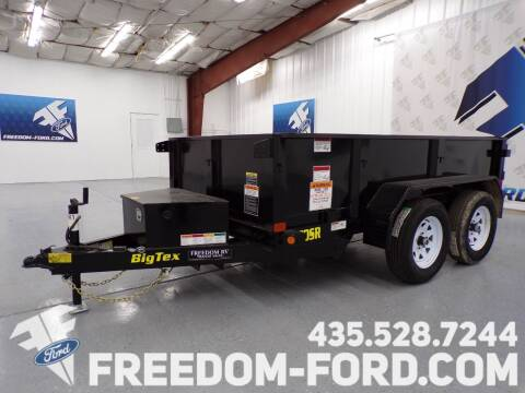 2021 Utility Trailer Big Tex 70 SR-10-5WDD for sale at Freedom Ford Inc in Gunnison UT