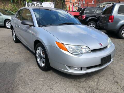 2003 Saturn Ion for sale at James Motor Cars in Hartford CT