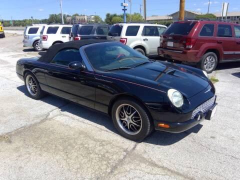 2002 Ford Thunderbird for sale at Regency Motors Inc in Davenport IA