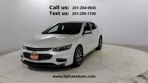 2016 Chevrolet Malibu for sale at NJ State Auto Used Cars in Jersey City NJ