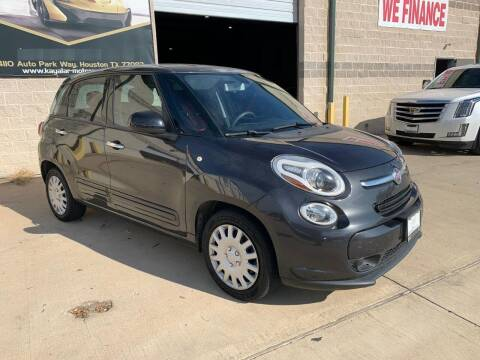 2014 FIAT 500L for sale at KAYALAR MOTORS Mechanic in Houston TX