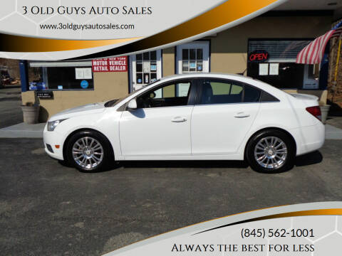 2011 Chevrolet Cruze for sale at 3 Old Guys Auto Sales in Newburgh NY