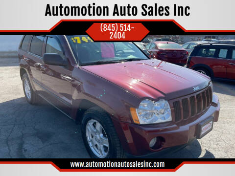 2007 Jeep Grand Cherokee for sale at Automotion Auto Sales Inc in Kingston NY