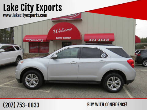 2013 Chevrolet Equinox for sale at Lake City Exports - Lewiston in Lewiston ME
