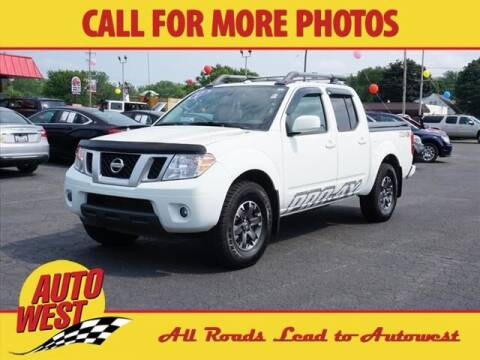 2017 Nissan Frontier for sale at Autowest of GR in Grand Rapids MI