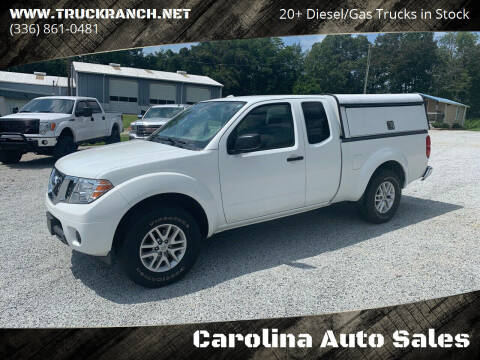 2015 Nissan Frontier for sale at Carolina Auto Sales in Trinity NC