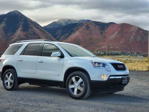 2010 GMC Acadia for sale at FRESH TREAD AUTO LLC in Springville UT