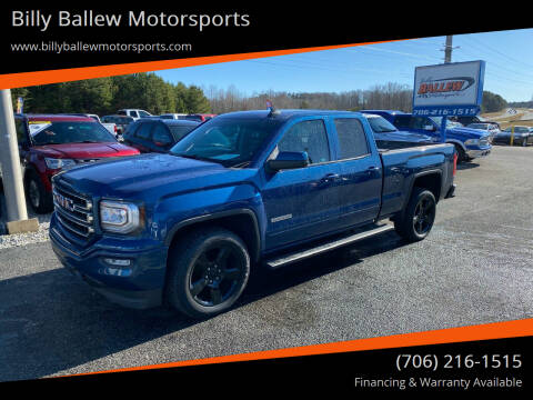 2017 GMC Sierra 1500 for sale at Billy Ballew Motorsports in Dawsonville GA