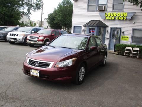2010 Honda Accord for sale at Loudoun Used Cars in Leesburg VA